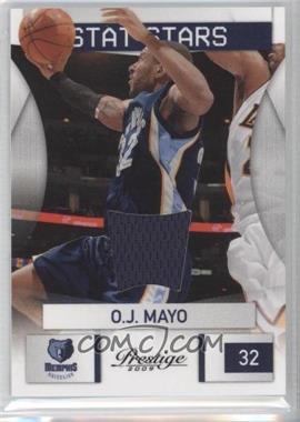 2009-10 Panini Prestige - Stat Stars - Materials [Memorabilia] #1 - O.J. Mayo /200