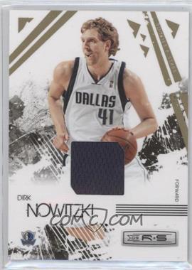 2009-10 Panini Rookies & Stars - [Base] - Materials [Memorabilia] #17 - Dirk Nowitzki /99