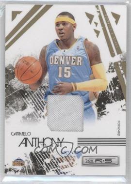 2009-10 Panini Rookies & Stars - [Base] - Materials [Memorabilia] #22 - Carmelo Anthony /250