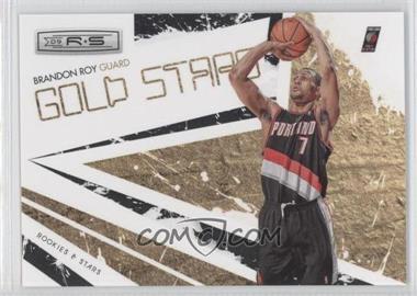 2009-10 Panini Rookies & Stars - Gold Stars - Black #10 - Brandon Roy /100