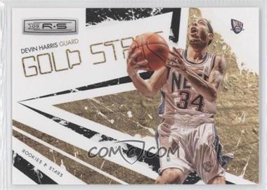 2009-10 Panini Rookies & Stars - Gold Stars - Black #12 - Devin Harris /100