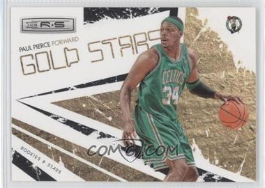 2009-10 Panini Rookies & Stars - Gold Stars - Black #15 - Paul Pierce /100