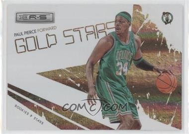 2009-10 Panini Rookies & Stars - Gold Stars - Holofoil #15 - Paul Pierce /250