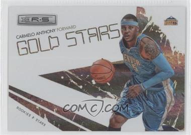 2009-10 Panini Rookies & Stars - Gold Stars - Holofoil #8 - Carmelo Anthony /250