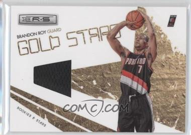 2009-10 Panini Rookies & Stars - Gold Stars - Materials [Memorabilia] #10 - Brandon Roy