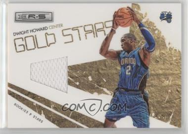 2009-10 Panini Rookies & Stars - Gold Stars - Materials [Memorabilia] #14 - Dwight Howard