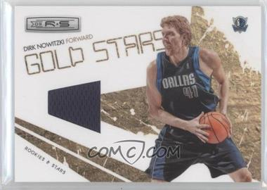 2009-10 Panini Rookies & Stars - Gold Stars - Materials [Memorabilia] #4 - Dirk Nowitzki