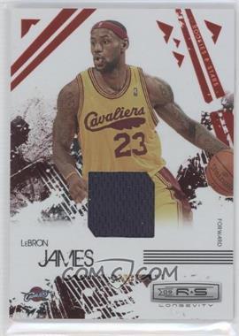 2009-10 Panini Rookies & Stars - Longevity - Ruby Materials [Memorabilia] #14 - Lebron James /250