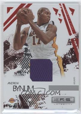 2009-10 Panini Rookies & Stars - Longevity - Ruby Materials [Memorabilia] #42 - Andrew Bynum /250