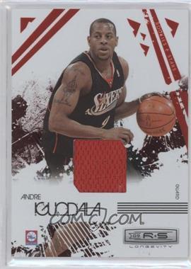 2009-10 Panini Rookies & Stars - Longevity - Ruby Materials [Memorabilia] #73 - Andre Iguodala /250