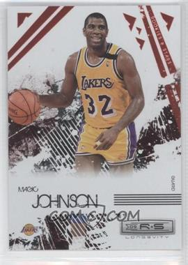 2009-10 Panini Rookies & Stars - Longevity - Ruby #114 - Magic Johnson /250