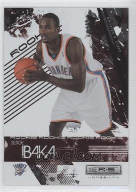 2009-10 Panini Rookies & Stars - Longevity - Ruby #126 - Serge Ibaka /250