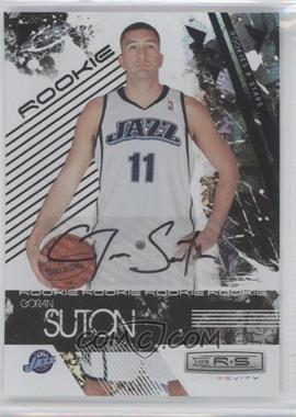 2009-10 Panini Rookies & Stars - Longevity - Signatures [Autographed] #123 - Goran Suton /773