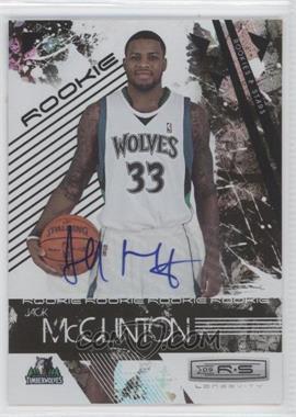 2009-10 Panini Rookies & Stars - Longevity - Signatures [Autographed] #124 - Jack McClinton /474