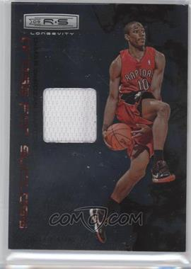2009-10 Panini Rookies & Stars - Longevity Dress for Success Materials #8 - DeMar DeRozan /299