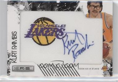 2009-10 Panini Rookies & Stars - Manufactured Team Logo Patch Retired Signatures - [Autographed] #15 - Kurt Rambis /99