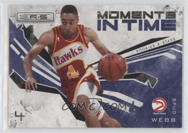 2009-10 Panini Rookies & Stars - Moments in Time - Black #10 - Spud Webb /100