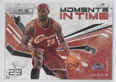 2009-10 Panini Rookies & Stars - Moments in Time - Black #14 - Lebron James /100