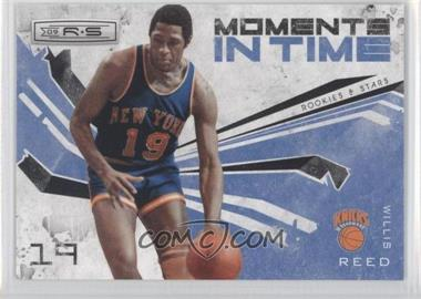 2009-10 Panini Rookies & Stars - Moments in Time - Black #5 - Willis Reed /100