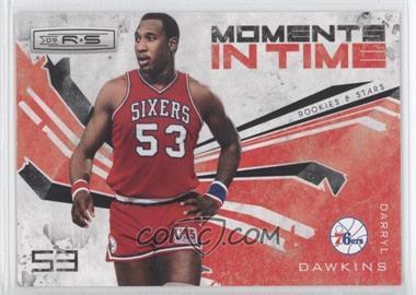 2009-10 Panini Rookies & Stars - Moments in Time - Black #8 - Darryl Dawkins /100