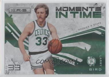 2009-10 Panini Rookies & Stars - Moments in Time - Holofoil #11 - Larry Bird /250