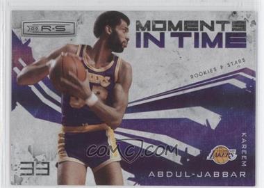 2009-10 Panini Rookies & Stars - Moments in Time - Holofoil #12 - Kareem Abdul-Jabbar /250