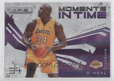 2009-10 Panini Rookies & Stars - Moments in Time - Holofoil #13 - Shaquille O'Neal /250