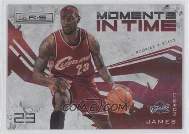2009-10 Panini Rookies & Stars - Moments in Time - Holofoil #14 - Lebron James /250