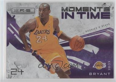 2009-10 Panini Rookies & Stars - Moments in Time - Holofoil #15 - Kobe Bryant /250