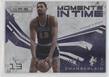 2009-10 Panini Rookies & Stars - Moments in Time - Holofoil #2 - Wilt Chamberlain /250