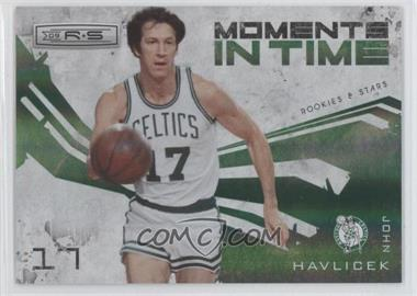2009-10 Panini Rookies & Stars - Moments in Time - Holofoil #3 - John Havlicek /250