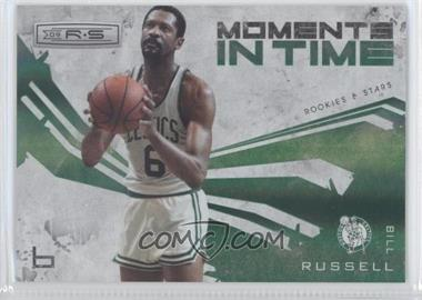 2009-10 Panini Rookies & Stars - Moments in Time - Holofoil #4 - Bill Russell /250