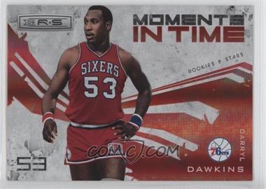 2009-10 Panini Rookies & Stars - Moments in Time - Holofoil #8 - Darryl Dawkins /250