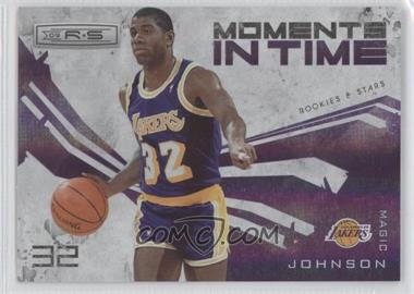 2009-10 Panini Rookies & Stars - Moments in Time - Holofoil #9 - Magic Johnson /250