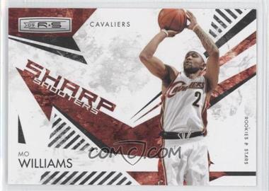 2009-10 Panini Rookies & Stars - Sharp Shooters - Black #8 - Mo Williams /100