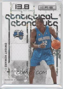 2009-10 Panini Rookies & Stars - Statistical Standouts Materials #8 - Dwight Howard /299