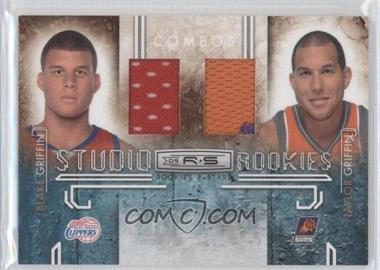 2009-10 Panini Rookies & Stars - Studio Rookies Combos - Materials [Memorabilia] #1 - Blake Griffin, Taylor Griffin /299