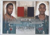 James Johnson, Jeff Teague /299