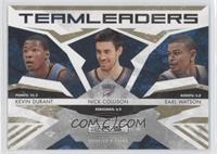 Earl Watson, Nick Collison, Kevin Durant /500