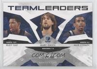 Marc Gasol, Rudy Gay, Mike Conley