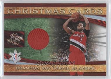 2009-10 Panini Season Update - Christmas Cards Materials #5 - Brandon Roy /499