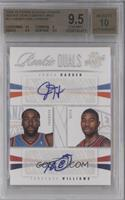 James Harden, Terrence Williams /99 [BGS 9.5]