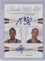 Stephen Curry, Brandon Jennings /49