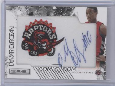 2009-10 Panini Season Update - Rookies & Stars Update Rookie NBA Team Patch Signatures #166 - DeMar DeRozan /499