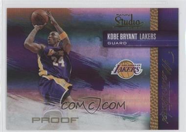 2009-10 Panini Studio - Masterstrokes - Proofs #10 - Kobe Bryant /199