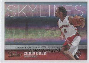 2009-10 Panini Studio - Skylines - Proofs #28 - Chris Bosh /199
