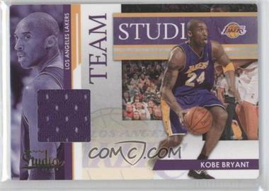 2009-10 Panini Studio - Team Studio - Materials [Memorabilia] #1 - Kobe Bryant, Pau Gasol /249