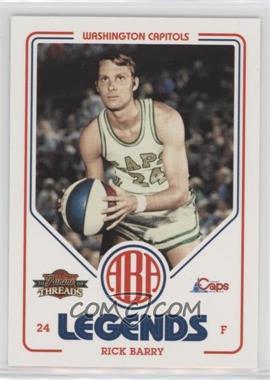 2009-10 Panini Threads - ABA Legends #2 - Rick Barry