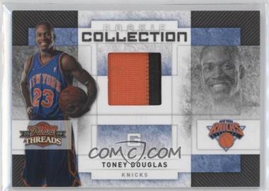 2009-10 Panini Threads - Rookie Collection Materials - Prime #27 - Toney Douglas /25