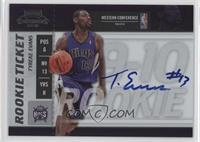 Rookie Ticket - Tyreke Evans